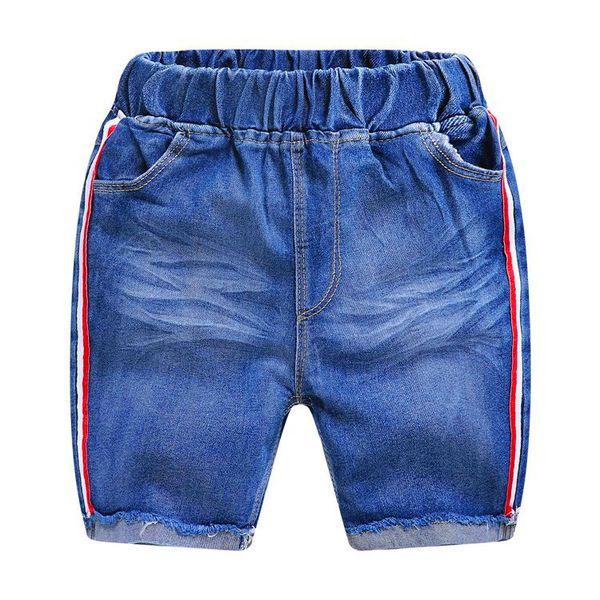 AMISSA 2019 The New Summer Boys Jeans Casual Cotton Kids Abbigliamento Childrens Shorts in vita pantaloni da bambino Baby Boy Jeans