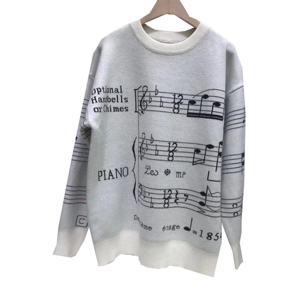 2019 New Arrival Mens and Womens Designer Sweater Street Style Mens Special Printed Sweaters Hoodie Luxury Autumn Winter Women Clothing