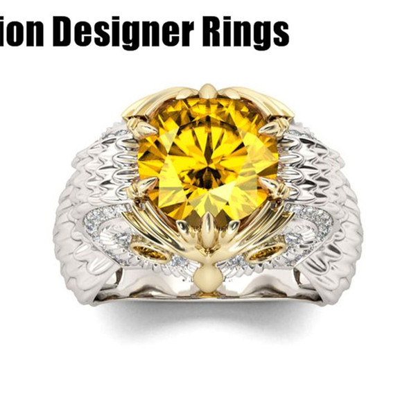 new 2019 wholesale manufacturer rings for lover fashion bronze real 925 sterling silver festival party cheap cycle swarovski