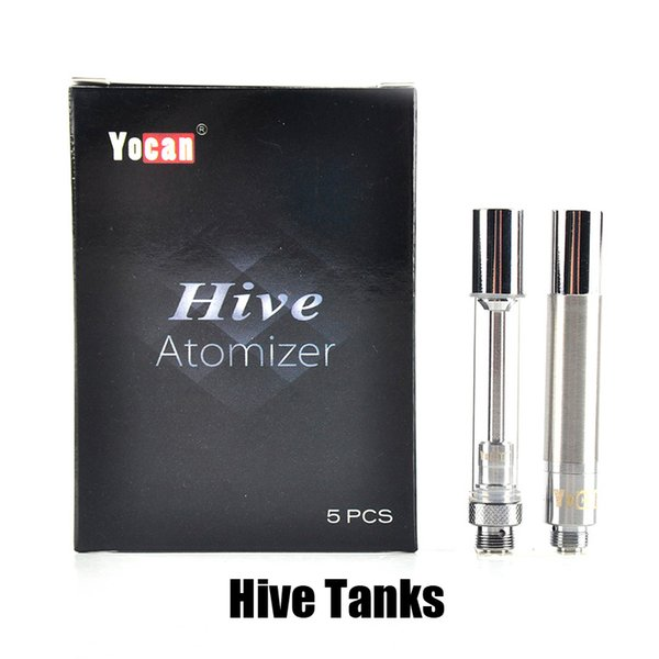 top popular Authentic Yocan Hive Atomizers Wax Vaporizer & Oil Cartridges No Leakage Design for Yocan Hive 2in1 kit tank 100% Genuine 2204033 2020