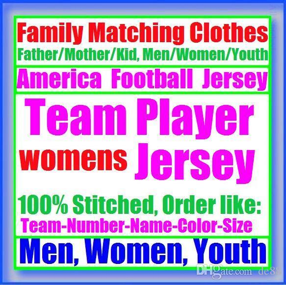 All Stitched Custom american football jerseys Houston New York college authentic cheap baseball basketball mens womens youth USA 4xl elite