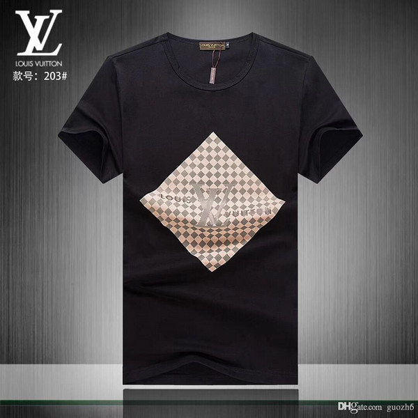 IDuzi Designer Marca Mens casual T-shirt Curto de todo o jogo de verão Legal Tshirt Medusa camisa polo cor sólida camisa e tamanho branco M-3XL