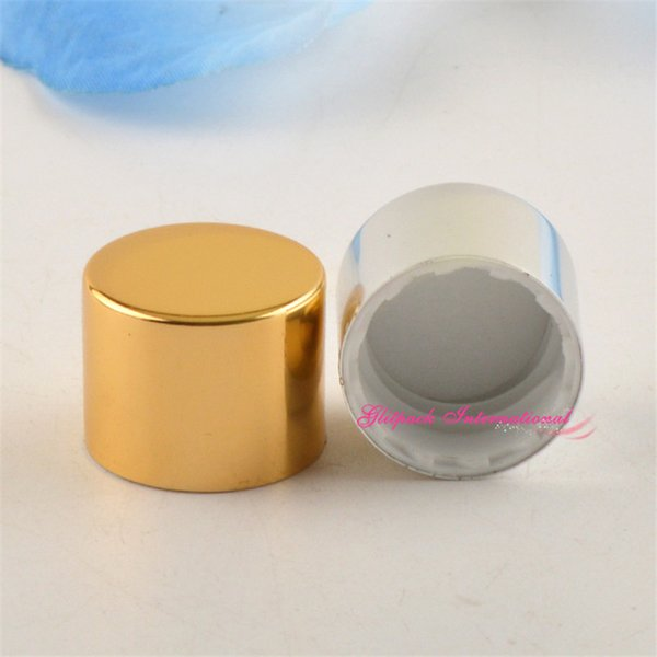 top popular R18 R20 R24 Alumite Caps for 100ml 150ml 200ml 250ml Empty PET cosmetic bottle 18mm 20mm 24mm lid closure screw white cover PP 2021