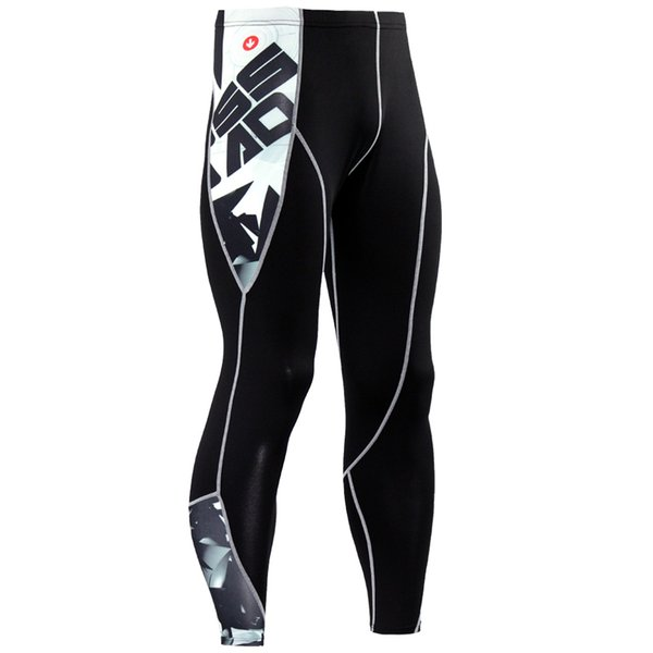 Wholesale High Quality Compression Pants Running Tights Men Run Jogging Pants Sport Leggings Men Gym Tight Bodybuilding Fitness Trousers