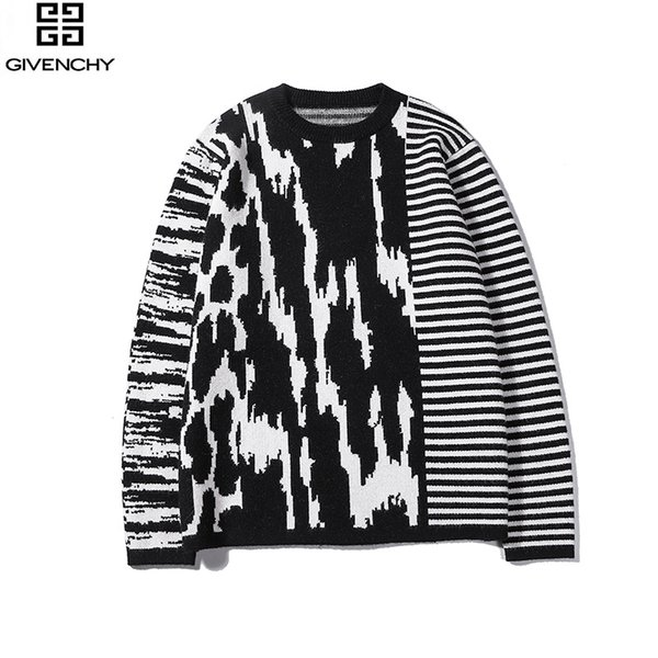2019 nova quente de luxo europeu camisola carta bordado impresso camisola moda quente lã casal mulheres mens designer camisola