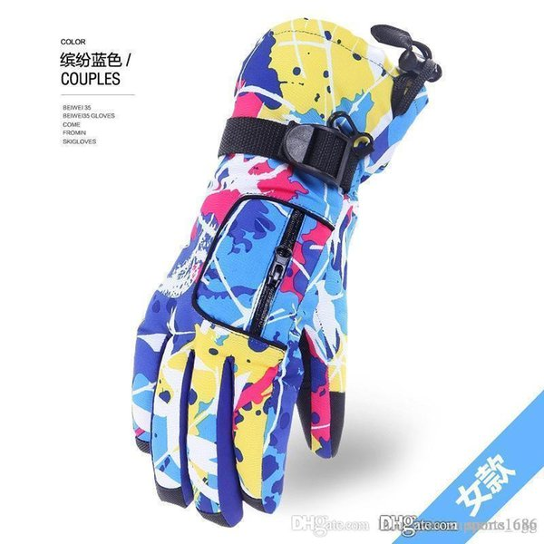 2 1 ski gloves winter wholesale men and women riding outdoor mountaineering ski bike gloves north # face glove north gloves gants face nf 6 thumbnail