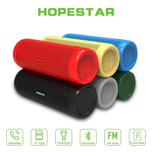 P4 bluetooth 4.2 mini portable sports speaker with 1800 mah power hd sound bass stereo ip6x waterproof handfree subwoofer with build-in mic