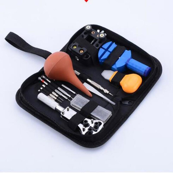 Portable Watch Repair Tools Kit Set Watch Tools Case Watchmaker Professional Stainless Steel Tool Accessories