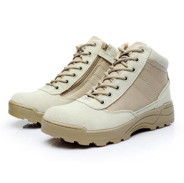 Открытый низкой помощи тактические сапоги, мужские походные сапоги, пустыни противоскользящие сапоги, камуфляж тактические ботинки.