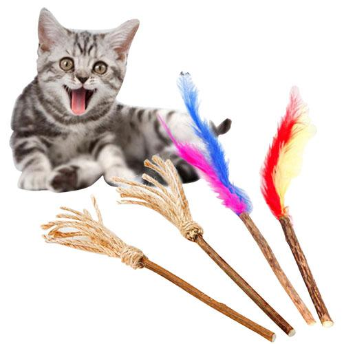 Pure Natural Catnip Pet Cat Toy Molar Toothpaste Branch Cleaning Teeth Silvervine Cat Snacks Sticks Pet Supplies