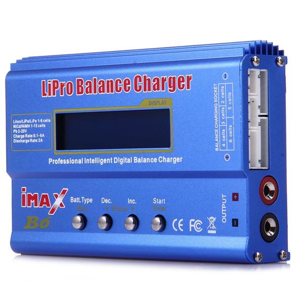 iMAX B6 LCD Screen Digital RC Lipo NiMh Battery Balance Charger / Discharge Charger for Lion LiPo LiFe
