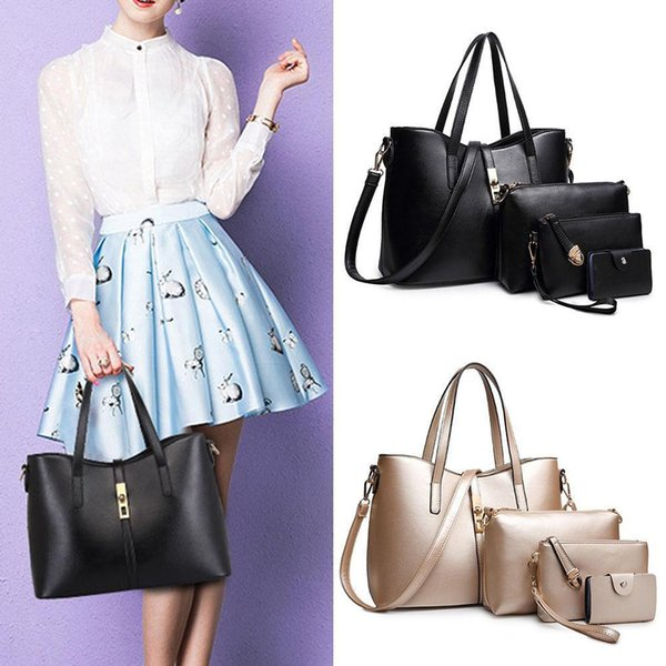 SFG HOUSE Women Handbags 5Pcs Set Female Shoulder Bags Nice Purses And Handbags Large Capacity Casual Tote Bags 5Pieces
