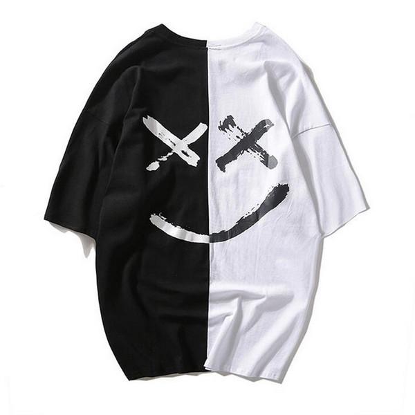 Leisure Fashion hot Ladies 'relaxation Cotton traspirabilità Girocollo manica corta T-shirt stampa serigrafica