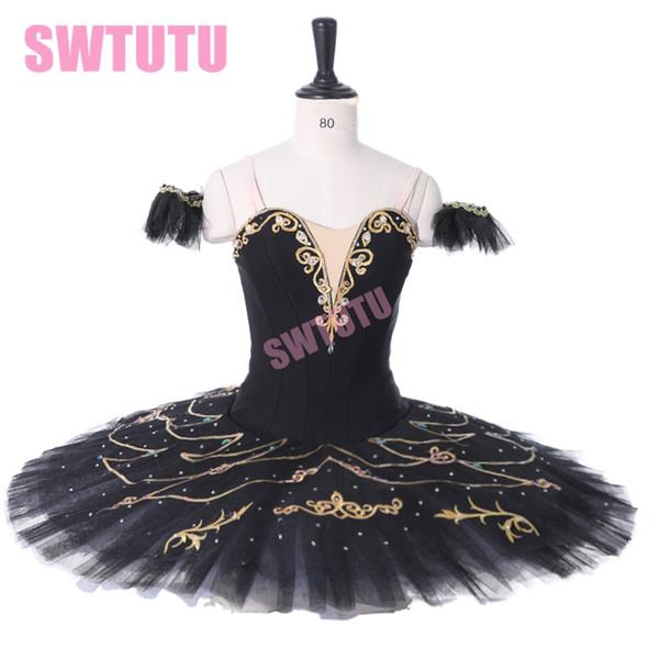 умирающий лебедь вариации балетного костюм для Competiton профессиональных балетного костюма блинов Туты женщин BT9295