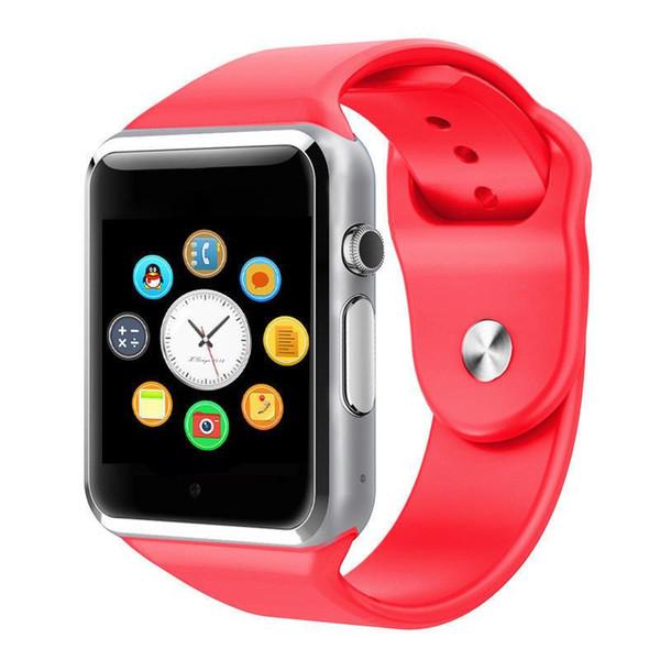 A1 reloj inteligente tarjeta de pantalla a color de 1,5 pulgadas llamada Bluetooth monitoreo del sueño pasos del ejercicio reloj recordatorio sedentario rastreador de ejercicios