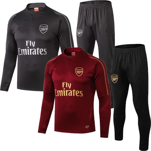 TOP 2018 19 RAMSEY Football training suit soccer tracksuit 1819 Alexis Maillot de foot RAMSEY GIROUD ADULT Training suit