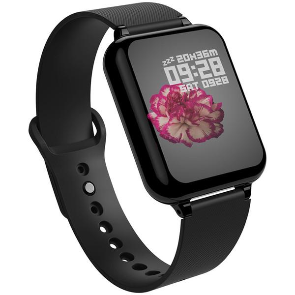 Умные часы B57 Умные часы Водонепроницаемые спортивные для iPhone Телефон Монитор сердечного ритма Функции артериального давления для женщин мужчины малыш