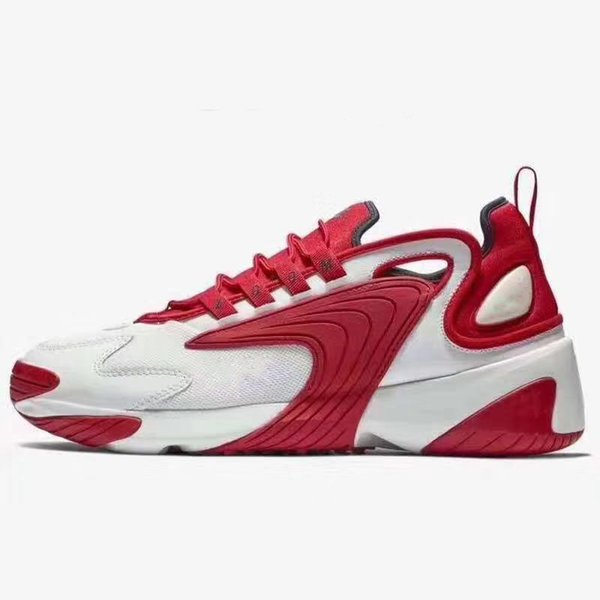 Zoom 2K Sail White-Black Navy Orange Mens Outdoor Sports Shoes 90s basketball style M2k Tekno model Fashion Men Designer Sneakers