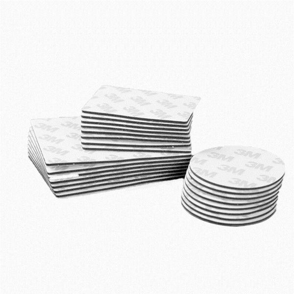 5pcs 3m Double Sided Black Foam Tape Strong Pad Mounting Rectangle Adhesive High Temperature fashion