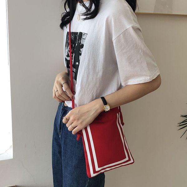 Mini Cell Phone Pocket For Women 2019 New Fashion Cavnas Shoulder Bags Female Cross Body Bag Sacks