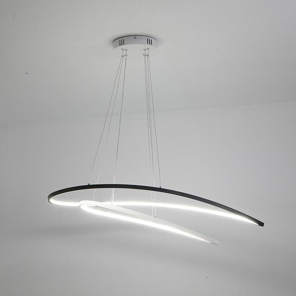 Acquista Wow NUOVO Dimmable Moderno LED Lampadari Sala Da Pranzo Camera Da  Letto Studio Lampadario Luci 110 V 220 V Lampadario Con Controllo A $198.01  ...