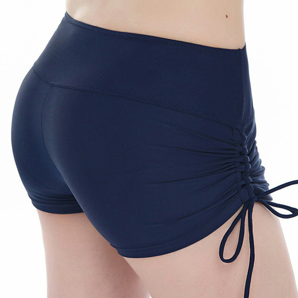 new fashion shorts women Exercise Elastic bands on both sides spodenki damskie shorts jeans for women