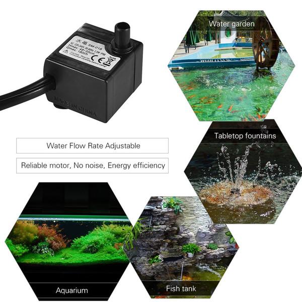 top popular Aquarium Air Pumps Fish Tank Oxygen Water Pump Oxygenator for Aquariums Agricultural Garden Flowers Plants Pool Landscape Hydroponic 2021