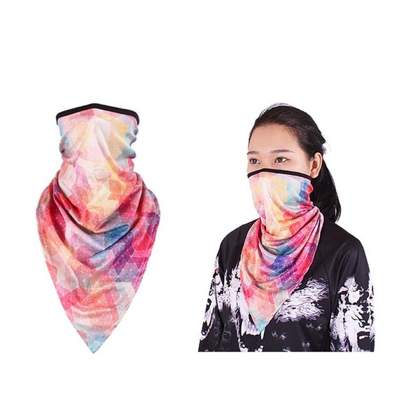 Ice Silk Face Mask Long Breathable Sunshade Neck Cover Protector Masks Scarf Headscarf Cycling Fishing Outdoor Bike Accessories