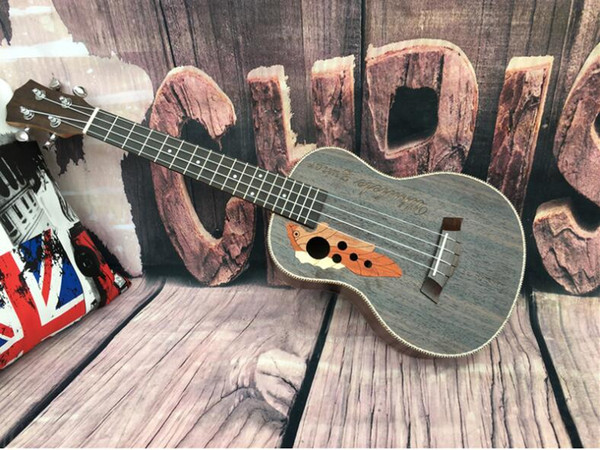 free shipping 23 inch rosewood grape hole ukulele small guitar beginner entry guitar instrument