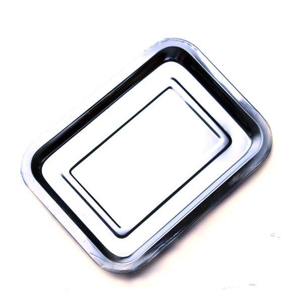 Aço inoxidável Newlezhen alta qualidade Bandeja pequeno de alta qualidade Ensino Laboratório de Suprimentos frasco de reagente inoxidável bandeja de aço / 10pcs