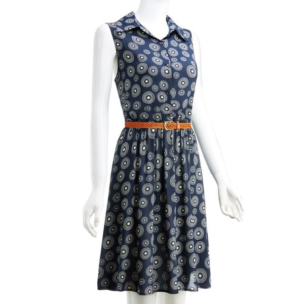 2019 Casual Women Dress Summer Retro Vintage Dresses Floral Print Dot Robe  Femme Rockabilly Plus Size Pinup Swing Party Dress From Mj_covenant, $23.92  ...