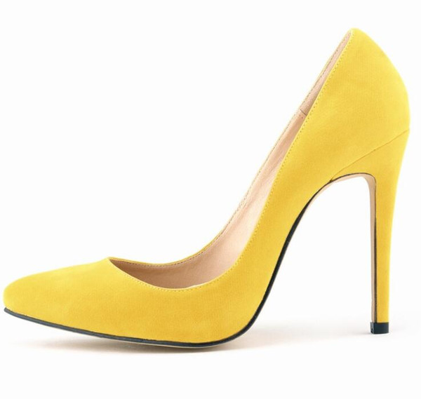 2019 HOT Women Shoes Pointed Toe Pumps Patent Leather Dress High Heels Boat Shoes Wedding Shoes Zapatos Mujer Blue wine red