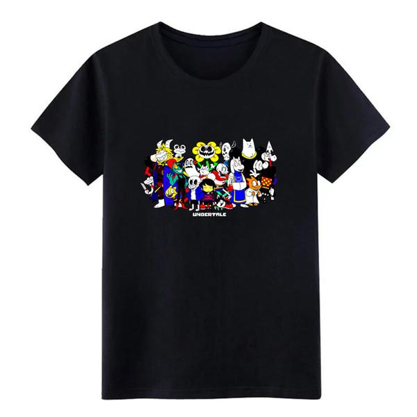 undertale T-Shirt Druckbaumwollrundhals dünnes kühles Hemd des Sonnenlicht-Spaßsommers