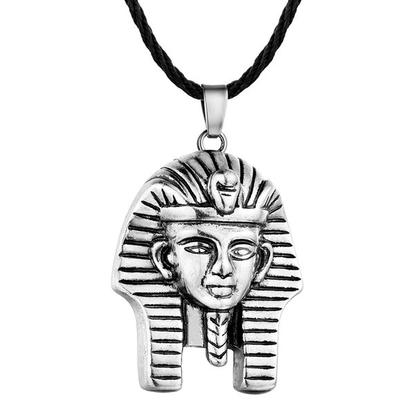 History Theme Jewelry Pharaoh Pattern Ancient Egypt Goddess Portrait Wild Tide Necklace Retro Slavic Antique Jewelry