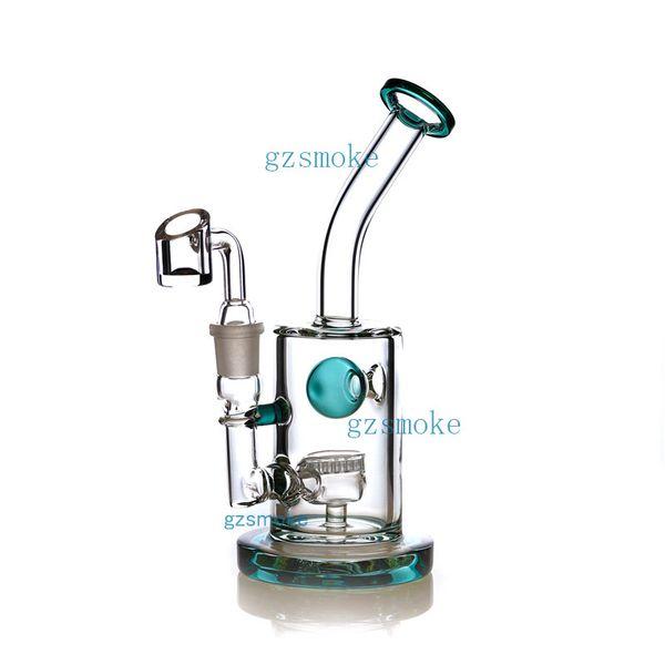 GW-015 verde acqua con banger al quarzo