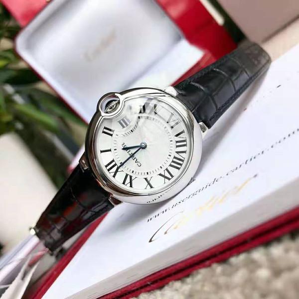 Diseñador clásico globo azul marca reloj de moda tanque de revestimiento de lujo serie de leopardo diamante pintura negra joyería de leopardo reloj de señoras 28300b #
