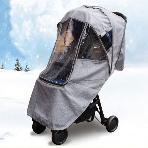 2019 2019 Universal Warm Waterproof Snow Wind Rain Cover Baby Stroller  Accessories Dust Shield Compatible For Babyzen And Others From Ffblocks,  $11 06