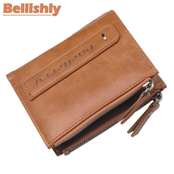 Bellishly 2019 famoso Marchio portemonee mens designer di moda portafoglio uomo coin porta moedas Top in pelle borsa di lusso M carteras
