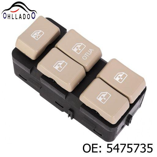 top popular HLLADO For B uick 02-07 Power Window Switch 5475735 2021