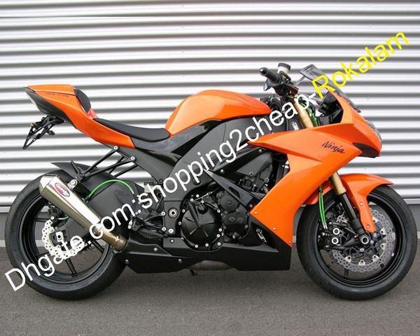 For Kawasaki Ninja ZX10R 2004-2010 2009 2008 2007 Organic Rear Brake Pads
