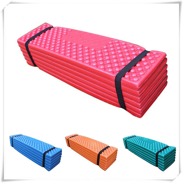 Almohadillas para exteriores Colchón de espuma ultraligero Colchoneta para acampar al aire libre Tienda de playa plegable fácil Almohadilla para dormir Colchones impermeables Colchonetas