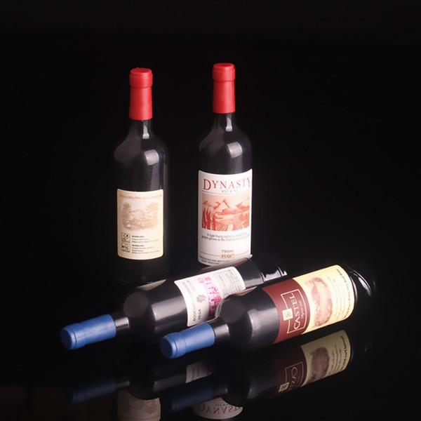 Nuevo estilo Accesorios para cigarrillos encendedores de gas Forma de botella de vino tinto encendedor de novedad