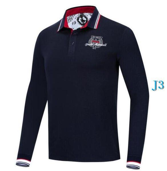 Mode Marque Pour Hommes Polos Chemises avec des motifs de luxe de Polos Automne Chemises Vêtements 2 couleurs M-3XL OptionalC