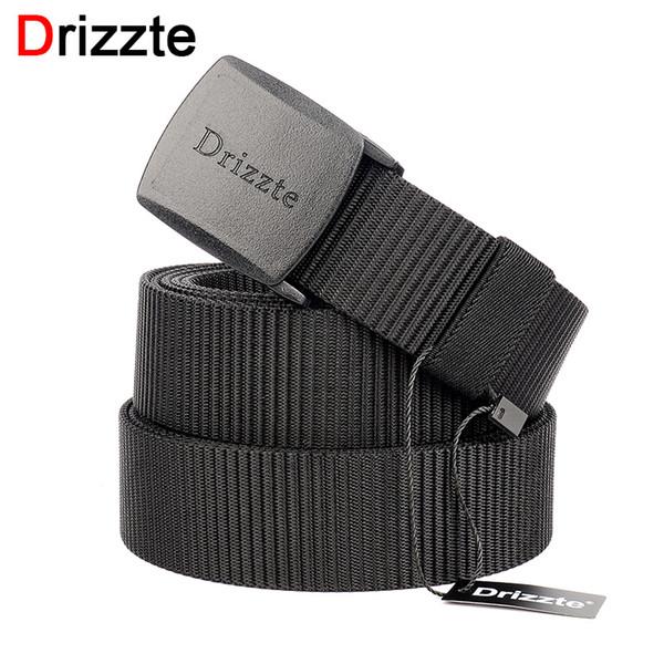vendita all'ingrosso Cintura in nylon di nylon Plus Size 160 170 180 190 200cm Cinturino in plastica YKK POM fibbia da 39 a 79 pollici per Big Man