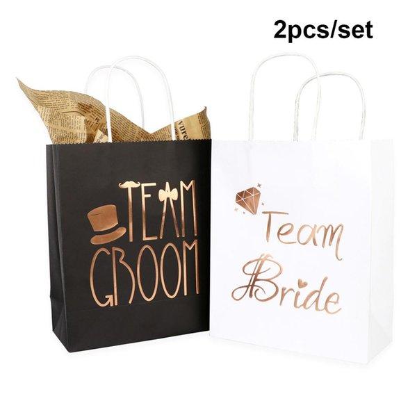 2Pcs Paper Bag