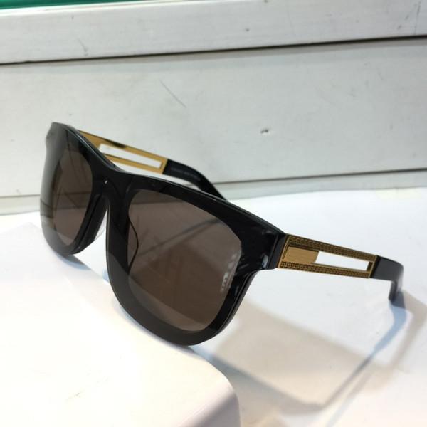 Toptan Satış - Toptan-Güneş Gözlüğü Çerçevesiz Çerçeve Bağlantı Lens UV400 Erkek Tasarımcı UV Koruma Lens Steampunk Yaz Kare Stil Comw Paketi ile