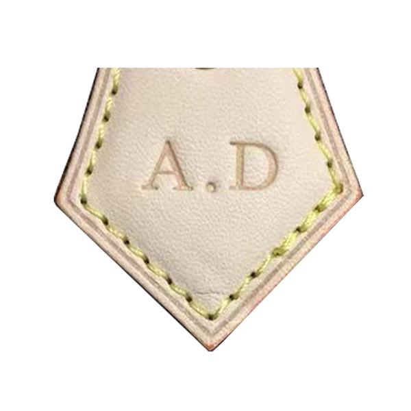Vieux cordonnier Personnalisez le cuir avec le cachet chaud Sac célèbre de marque personnalisé personnalisé ajoutez la lettre estampage à chaud rapide du portefeuille