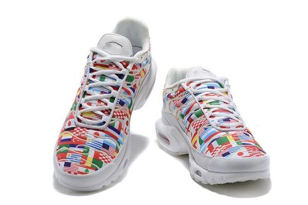 Nic 2019 Горячие кроссовки Международный Флаг NIC QS 95 обувь кроссовки Мужчины Женщины Кроссовки Дизайнер W Cup Limited Плюс обувь Tn 3A