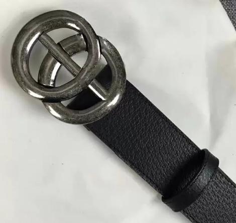 2019-g TOP homens cinto de alta qualidade das mulheres de couro genuíno cor preto e branco Designer de cinto de couro para homens cinto de luxo frete grátis