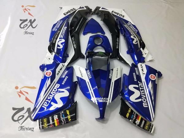 Para los tornillos de la carrocería del kit de carenado de inyección de plástico ABS de la motocicleta para Yamaha Tmax 530 2012-2014 de buena calidad 120